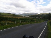 Heading up THAT hill from Salen to Tobermory