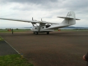 Catalina at Connell airport
