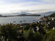 Mull in the distance from McCaig's Tower, Oban